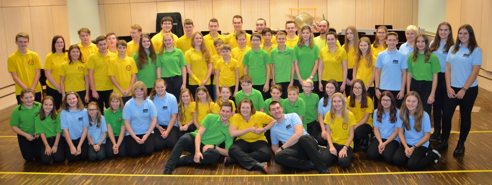 Gemeinschaftskonzert 'Jugend in Concert 2017' - mit den 'Granit Young Stars' und 'Young Wood & Brass'