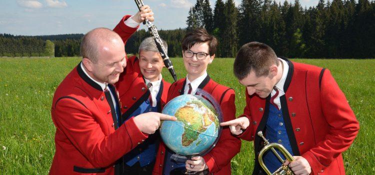 Der Musikverein Sandl lädt zu Pfingsten zur musikalischen Weltreise…